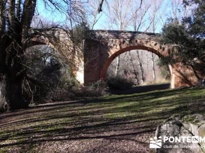 Senderismo Segovia - Riberas de los ríos Pirón y Viejo; bola del mundo navacerrada; los ancares lu